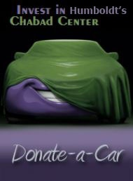 donate a car to Chabad Jewish Learning center of Humboldt County California
